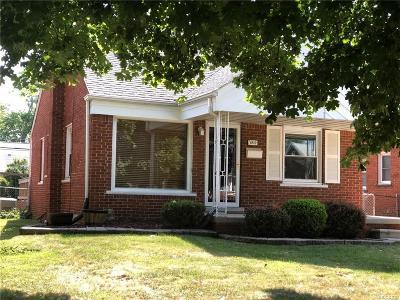 Allen Park Single Family Home For Sale: 9815 Quandt Avenue
