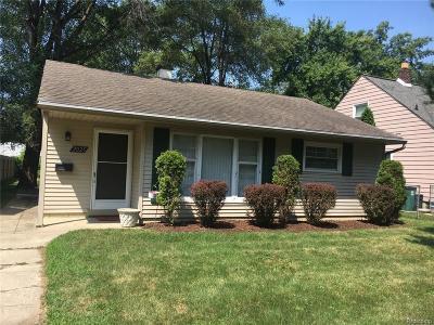 Royal Oak Single Family Home For Sale: 2025 N Connecticut Avenue