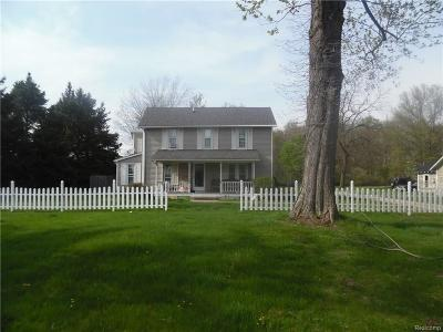 Huron Twp Single Family Home For Sale: 36970 Sibley Road