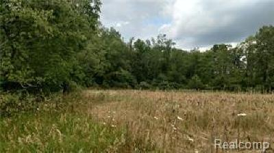 Washtenaw County Residential Lots & Land For Sale: Schmitz