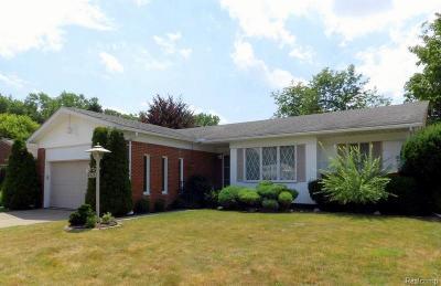 Allen Park Single Family Home For Sale: 18985 Bondie Drive