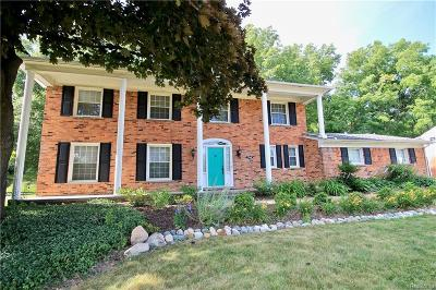 Bloomfield Twp Single Family Home For Sale: 2744 Brady Drive