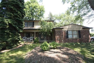 Troy Single Family Home For Sale: 6658 Livernois Road