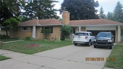 Dearborn Heights Single Family Home For Sale: 5940 Beaver Street