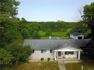 Bruce Twp Single Family Home For Sale: 71220 Fisher Road