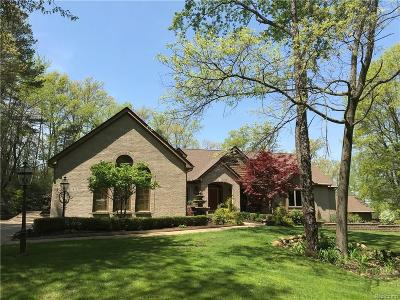 Milford Twp Single Family Home For Sale: 1419 Timber Ridge Court
