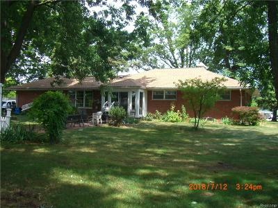 Taylor Single Family Home For Sale: 9364 Pardee Road