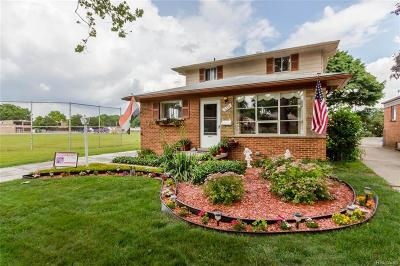 Dearborn Heights Single Family Home For Sale: 6522 Highview Street