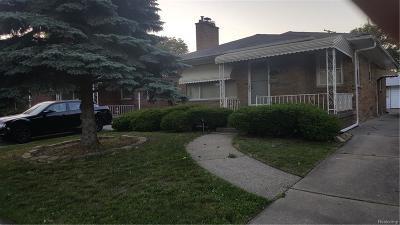 Eastpointe Single Family Home For Sale: 17685 Sprenger Avenue