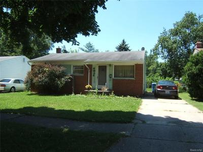 Dearborn Heights Single Family Home For Sale: 4924 Princess Street