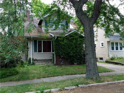 Wyandotte Single Family Home For Sale: 168 N Riverbank Street