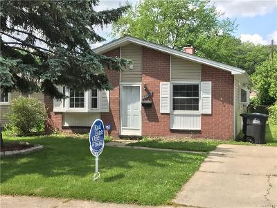 Taylor Single Family Home For Sale: 6412 Pine Street