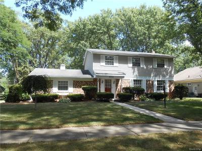 Troy Single Family Home For Sale: 4860 Whitesell Drive