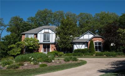 Bloomfield Hills Single Family Home For Sale: 2486 Hunters Pond