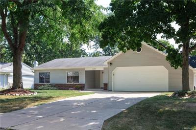 Northville, Novi, Canton, Plymouth, Livonia, Westland Single Family Home For Sale: 22740 Shadowpine Way