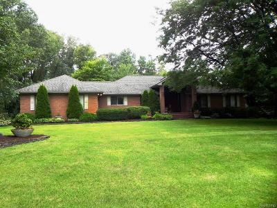 White Lake Single Family Home For Sale: 1100 Lake Jason Drive