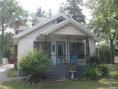 Holly Single Family Home For Sale: 1004 N Saginaw Street