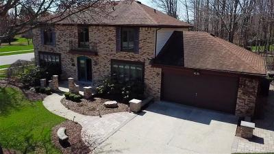 Plymouth Twp Single Family Home For Sale: 48839 W Hillcrest Court