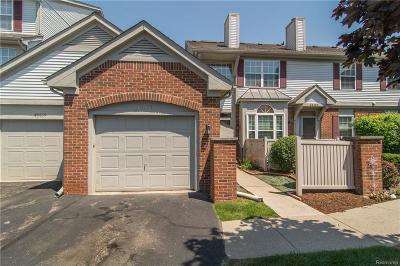 Plymouth Twp Condo/Townhouse For Sale: 49471 Pointe