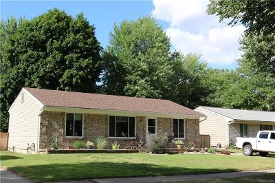 Single Family Home For Sale: 13865 Bowling Green