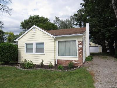 Taylor MI Single Family Home For Sale: $119,900