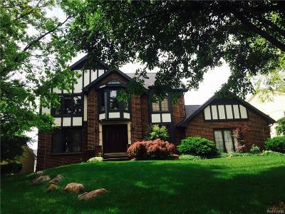 Farmington, Farmington Hills Single Family Home For Sale: 39093 Kennedy Drive