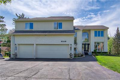 West Bloomfield, West Bloomfield Twp Single Family Home For Sale: 6189 Timberwood N