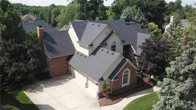 Rochester Hills Single Family Home For Sale: 1799 Haverhill Drive