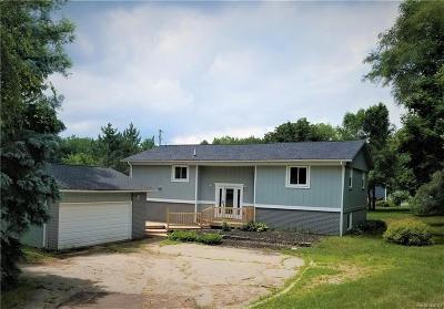 White Lake, White Lake Twp Single Family Home For Sale: 1190 Union Lake Road