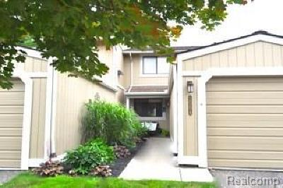 Northville MI Condo/Townhouse For Sale: $229,500