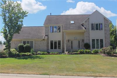 Farmington Hills Single Family Home For Sale: 39151 Horton Drive