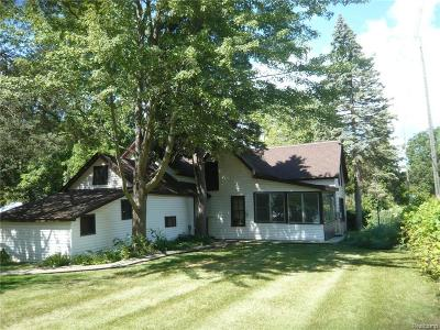 Grosse Ile Twp Single Family Home For Sale: 8269 Bellevue Road