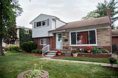 Redford Twp Single Family Home For Sale: 8819 Sioux