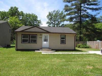 Taylor MI Single Family Home For Sale: $99,999