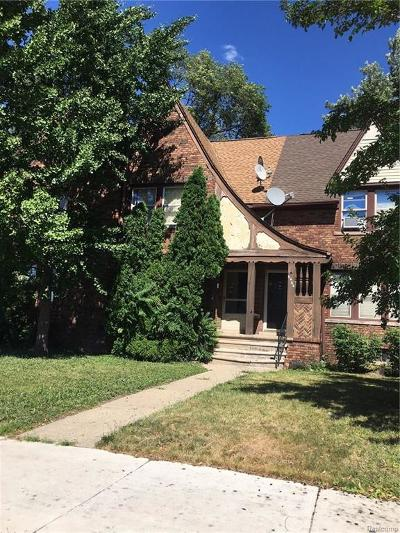 Dearborn Single Family Home For Sale: 6466 Schaefer Road