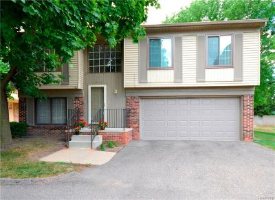 Troy Condo/Townhouse For Sale: 2987 Roundtree Drive