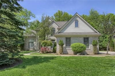 Bloomfield, Bloomfield Hills, Bloomfield Twp, West Bloomfield, West Bloomfield Twp Single Family Home For Sale: 7326 Autumn Hill Drive