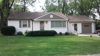 West Bloomfield, West Bloomfield Twp Single Family Home For Sale: 6685 Edwood Avenue