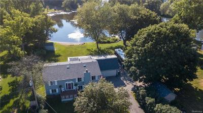 White Lake, White Lake Twp Single Family Home For Sale: 720 Bogie Lake Road