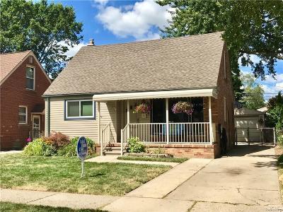Allen Park Single Family Home For Sale: 9668 Park Avenue
