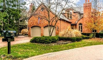 Bloomfield Hills Condo/Townhouse For Sale: 173 Kirkwood Court