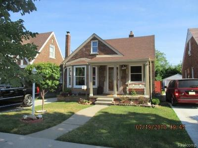 Allen Park, Lincoln Park, Southgate, Wyandotte, Taylor, Riverview, Brownstown Twp, Trenton, Woodhaven, Rockwood, Flat Rock, Grosse Ile Twp, Dearborn, Gibraltar Single Family Home For Sale: 1570 Michigan Boulevard