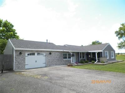 Canton, Canton Twp Single Family Home For Sale: 50001 Geddes Road