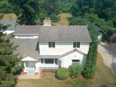 Oxford Single Family Home For Sale: 3158 Baldwin Road