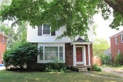 Birmingham MI Single Family Home For Sale: $349,500