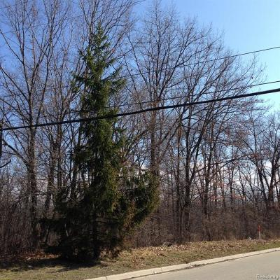 Auburn Hills Residential Lots & Land For Sale: Collier Road
