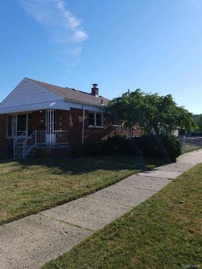 Allen Park MI Single Family Home For Sale: $169,900