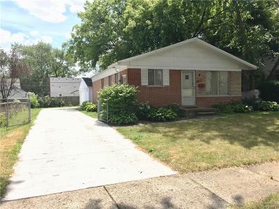 Berkley Single Family Home For Sale: 1609 Oxford Road
