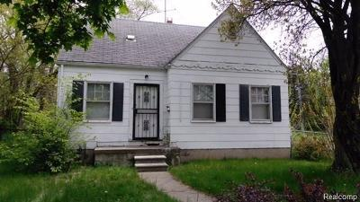 Detroit Single Family Home For Sale: 19400 Faust Avenue