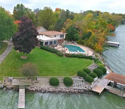 Belleville, Belleville-vanbure, Van Buren, Van Buren Twp Rental For Rent: 42494 E Huron River Drive